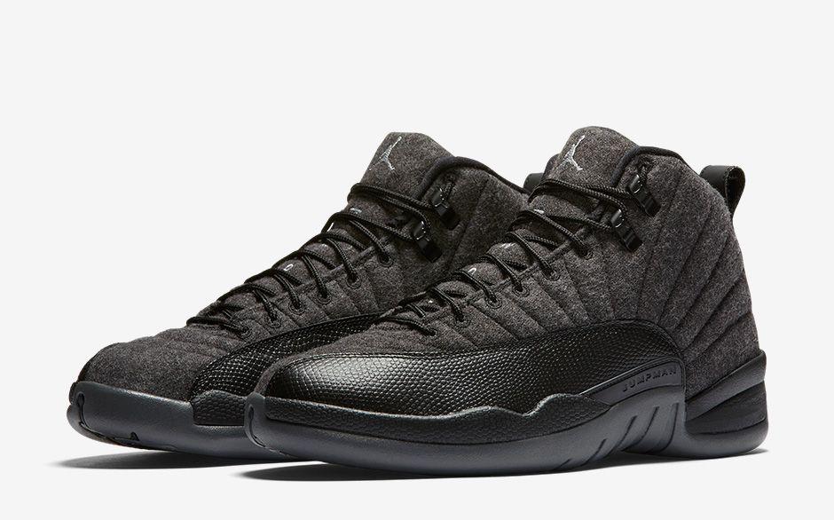 air-jordan-12-retro-wool-dark-grey-black-pair