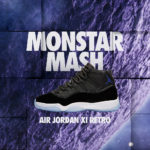 12.10発売 NIKE AIR JORDAN XI RETRO MONSTAR MASH